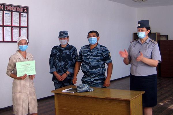 В Дагестане осужденные, имеющие наркотическую и алкогольную зависимость, успешно прошли курс реабилитации