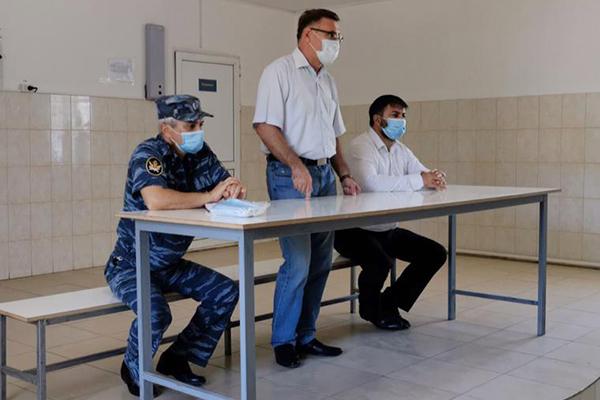 Представители институтов гражданского общества встретились с осужденными