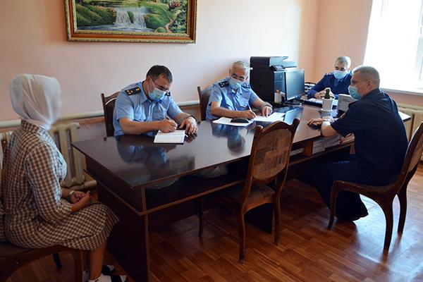 Прокурор Республики Дагестан с плановой проверкой посетил исправительную колонию № 8