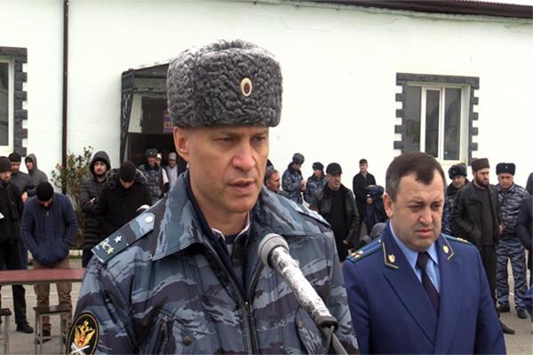 Начальник УФСИН Андрей Поляков поздравил осужденных с Новым годом