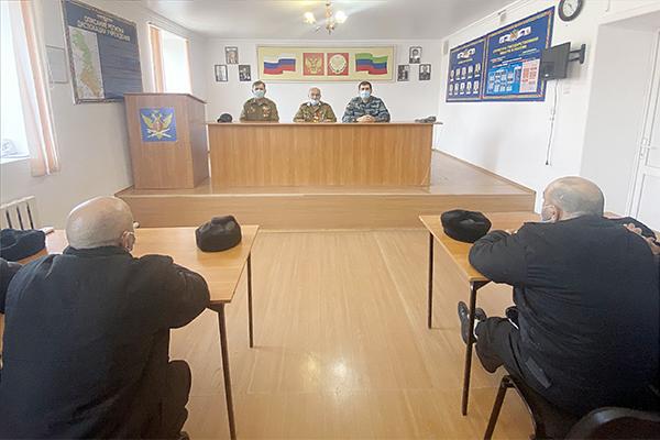 В учреждениях УИС Дагестана прошли мероприятия, посвященные Дню защитника Отечества