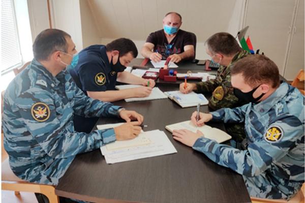 В отделе по конвоированию УФСИН прошла рабочая встреча с председателем участковой избирательной комиссии