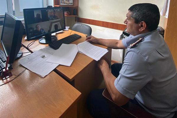 В УФСИН России по Республике Дагестан в режиме видеоконференцсвязи обсудили вопросы профилактики суицидов