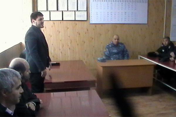 Межрелигиозная рабочая группа встретилась с осужденными в ИК-7