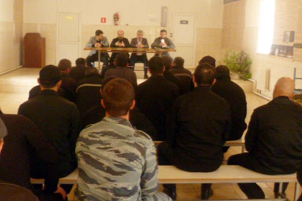 Межрелигиозная рабочая группа встретилась с осужденными в ЛИУ-4