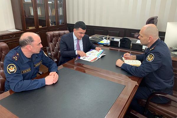 УФСИН России по Республике Дагестан и Минтруд республики обсудили вопросы взаимодействия