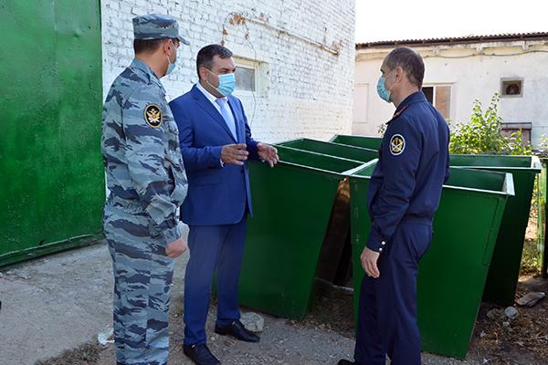 УФСИН России по Республике Дагестан и Министерство природных ресурсов и экологии Республики Дагестан договорились о сотрудничестве