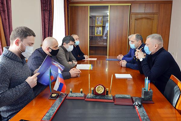 В УФСИН России по Республике Дагестан прошла рабочая встреча с врио министра промышленности РД