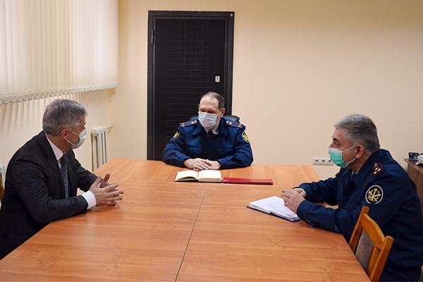 Уполномоченный по защите прав предпринимателей в Республике Дагестан посетил следственный изолятор № 1