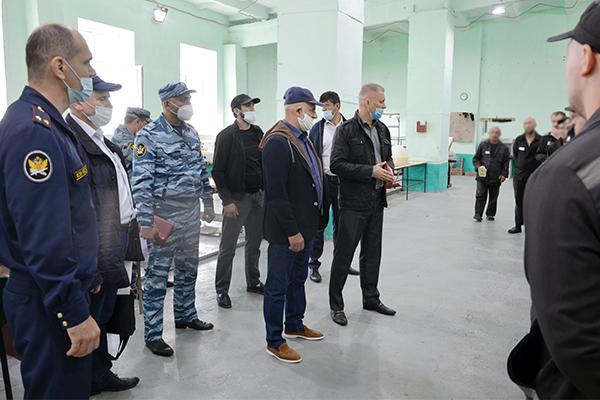 Руководство ООО «Группа компаний Каспий композит» посетило производственный сектор исправительной колонии № 2