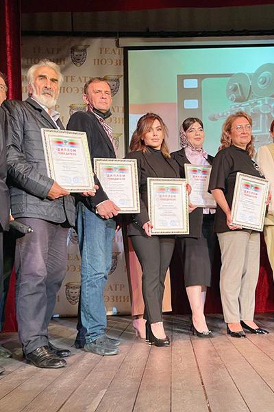 Старший инспектор пресс-службы УФСИН России по РД Сайгибат Яхьяева стала победителем кинофестиваля «Мирный Дагестан»