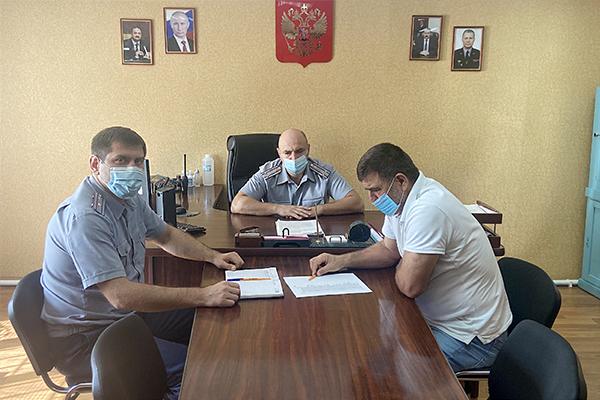 В следственном изоляторе № 2 прошла рабочая встреча с председателем участковой избирательной комиссии